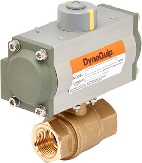 Picture for category Pneumatic Actuated Lead-Free Ball Valve